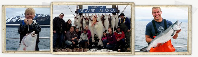 Seward Halibut & Salmon Fishing