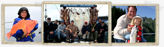 Alaska Halibut & Salmon Fishing
