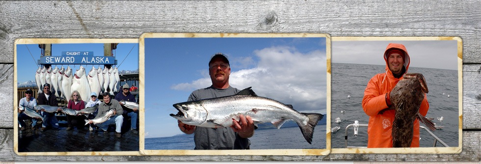 Multi species combo fishing trips for halibut salmon for Alaska fishing trip packages