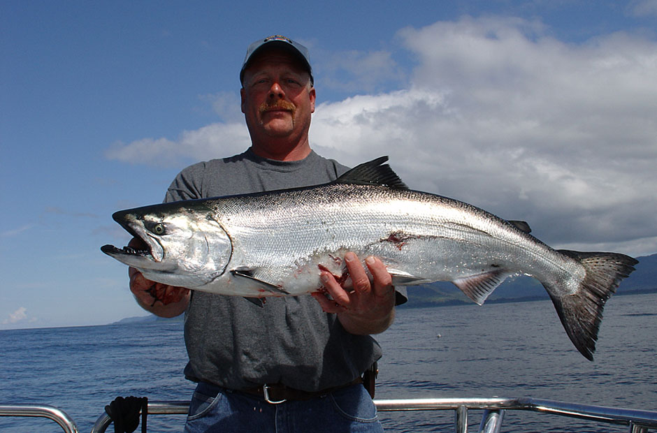 Alaska King Salmon Fishing Guides