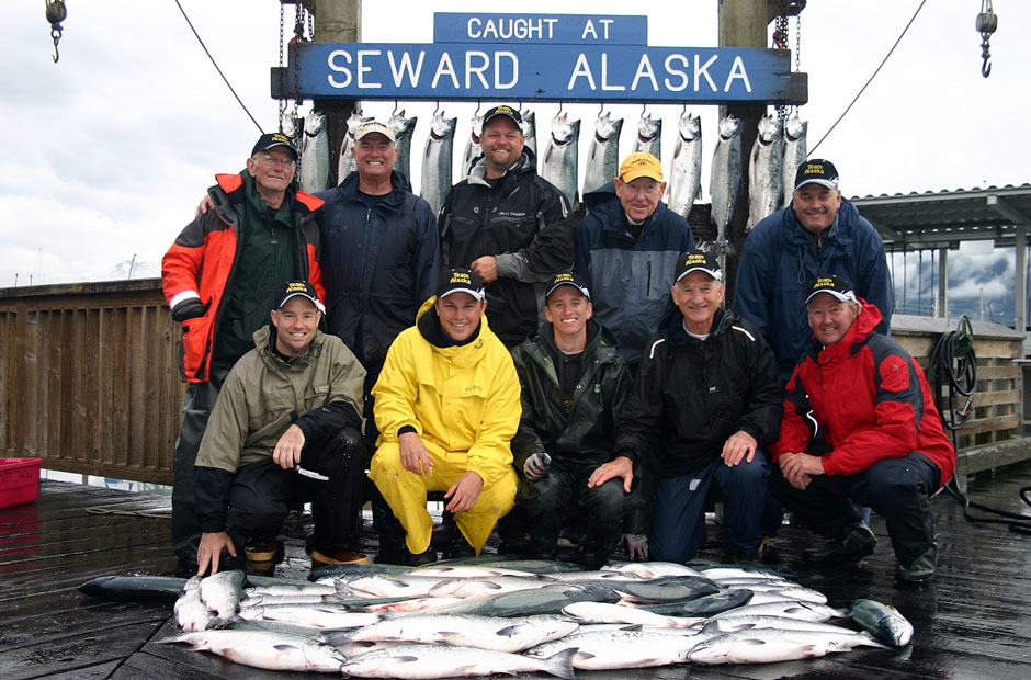 Alaska Silver Salmon Fishing