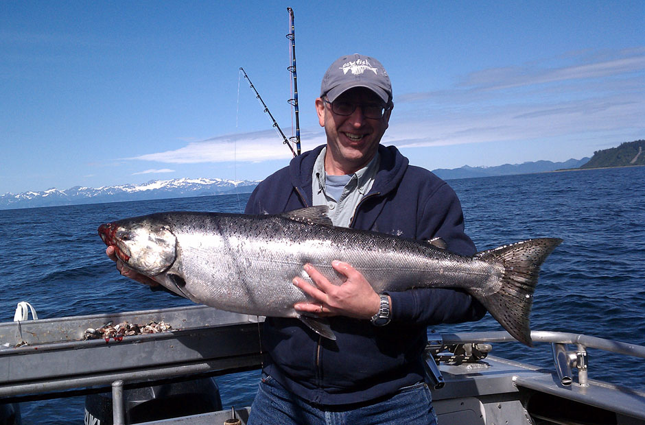 Alaskan King Salmon Fishing