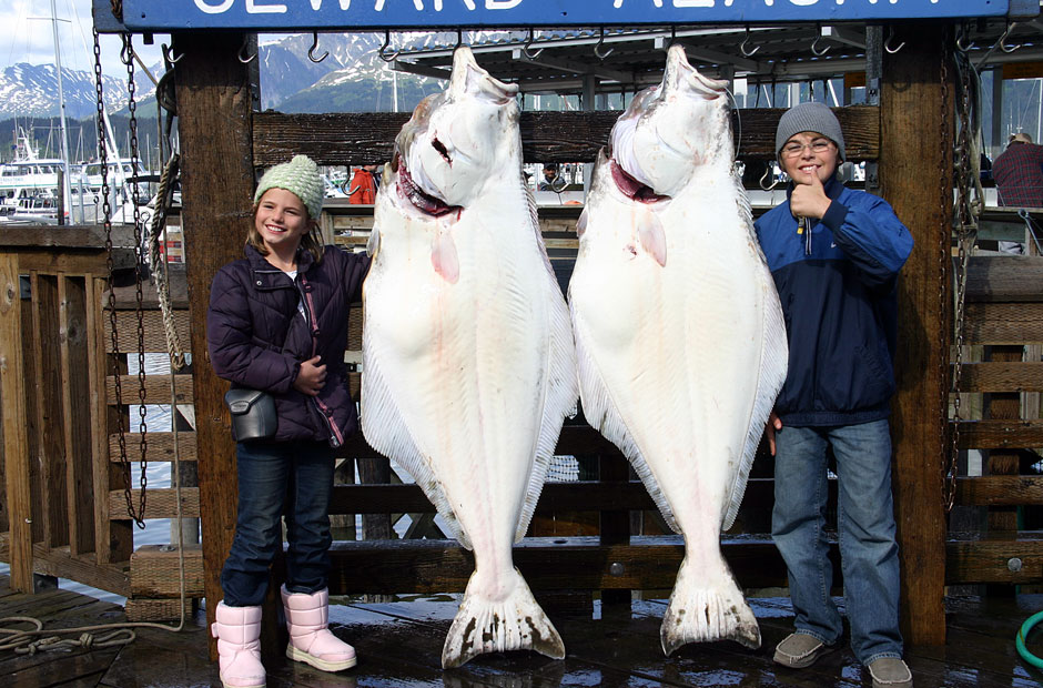 Girls Halibut Fishing Alaska