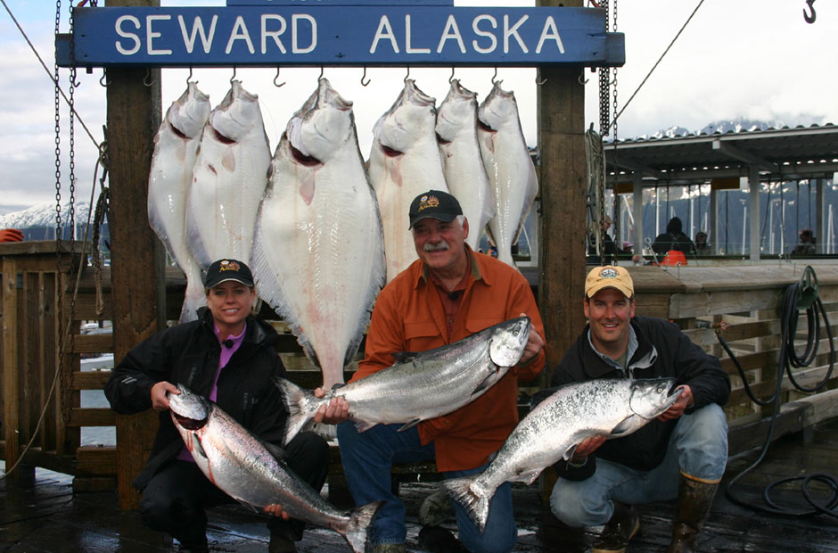 Larry Csonka Halibut King Salmon