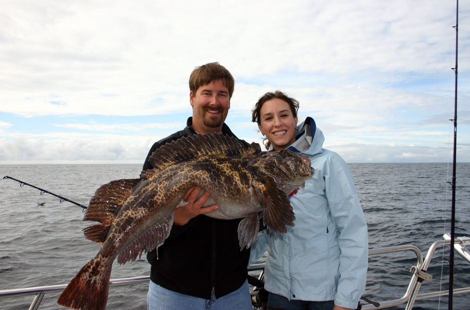 Lingcod fishing Seward