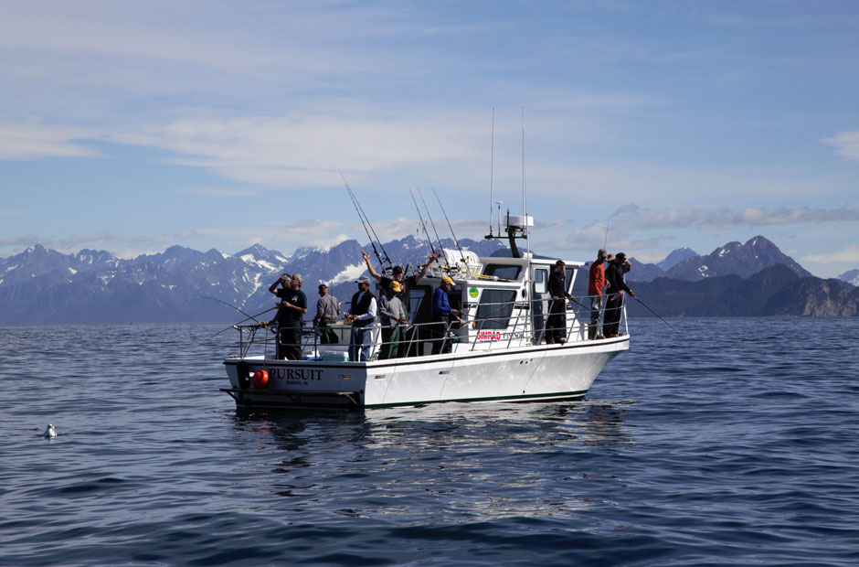 Pursuit Halibut Fishing