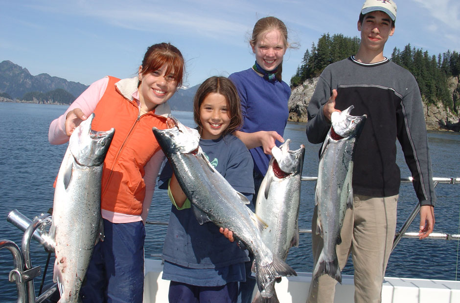 Seward Silver Salmon Fishing