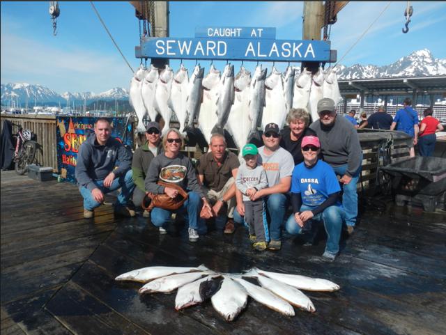 June 14 pursuit profish n sea for Seward alaska fishing reports