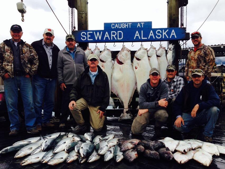 Halibut fishing report from seward ak july 26th for Seward alaska fishing