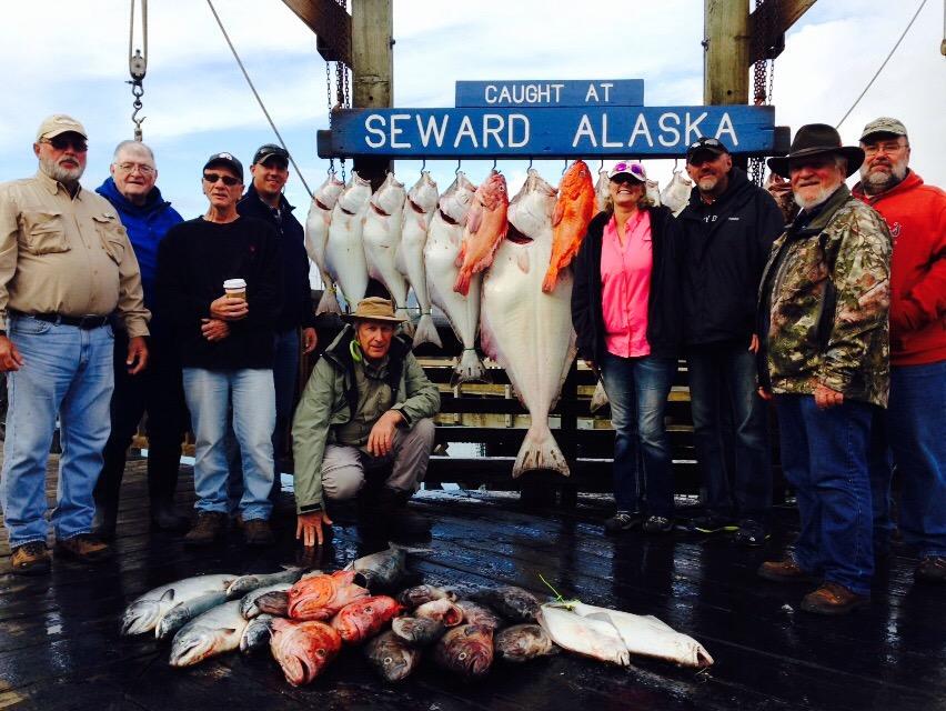 Seward fishing report july 27 2015 for Seward alaska fishing