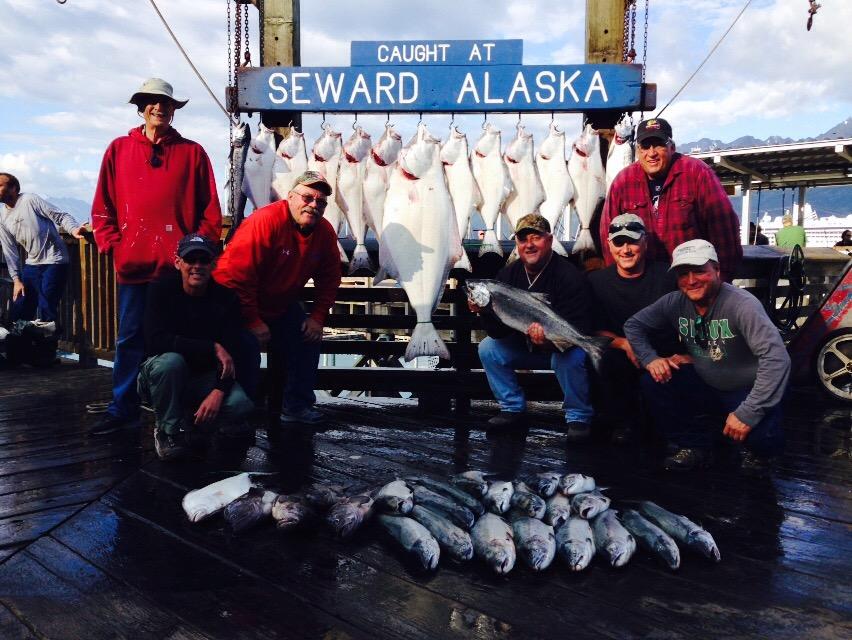 Alaska fishing report aug 2 2015 for Seward alaska fishing