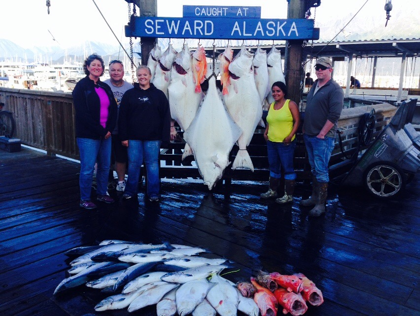 Aug 4 2015 seward report profish n sea for Seward alaska fishing reports