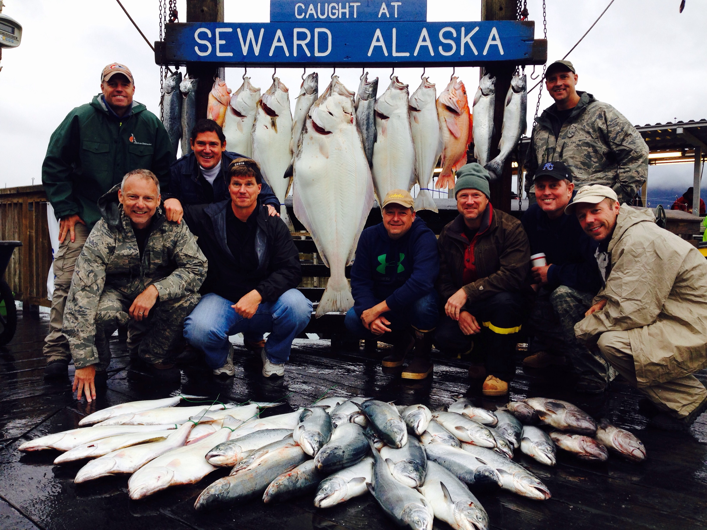 August 15 pursuit profish n sea for Seward fishing charters