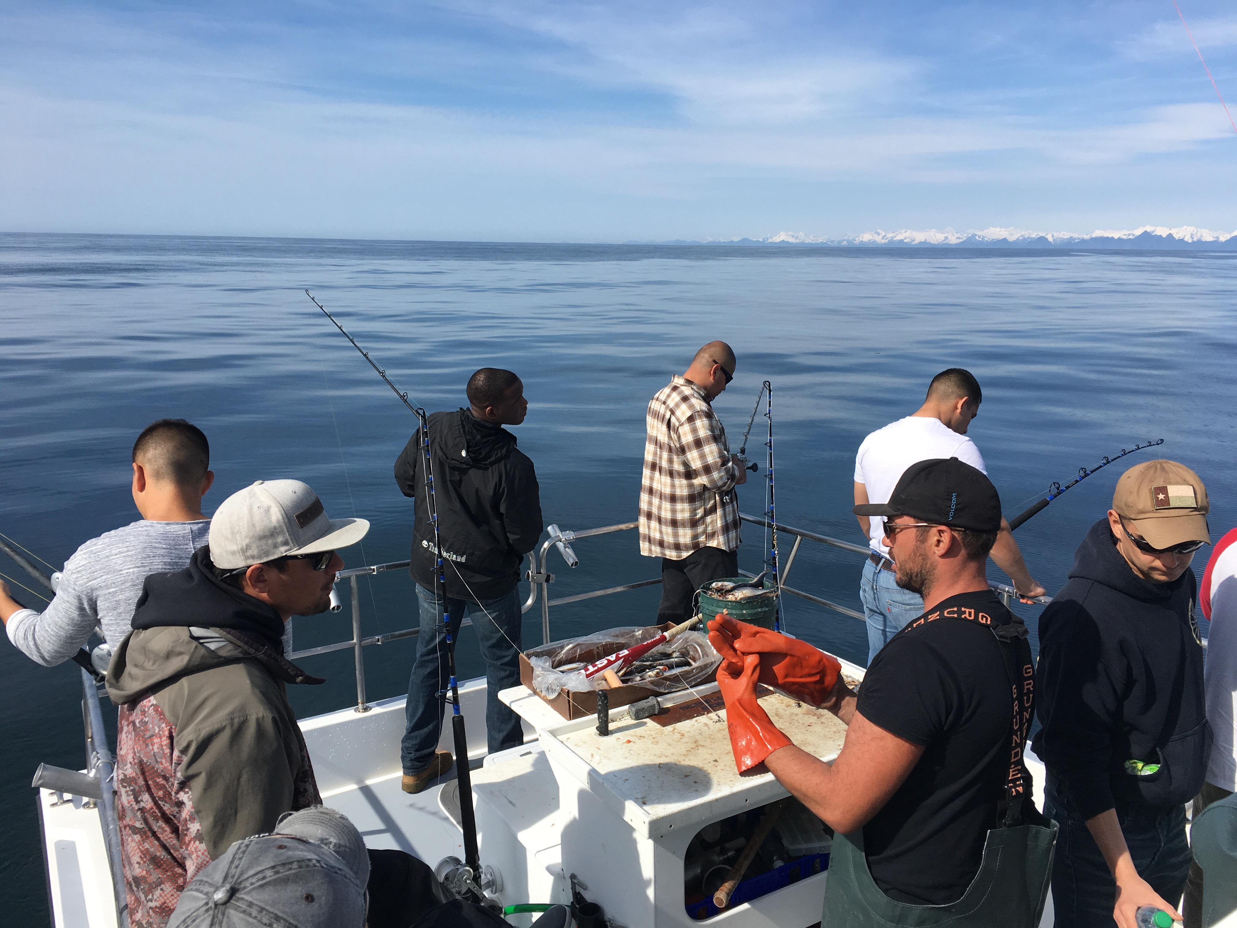 Combat fishing tourney 2016 profish n sea for Seward alaska fishing