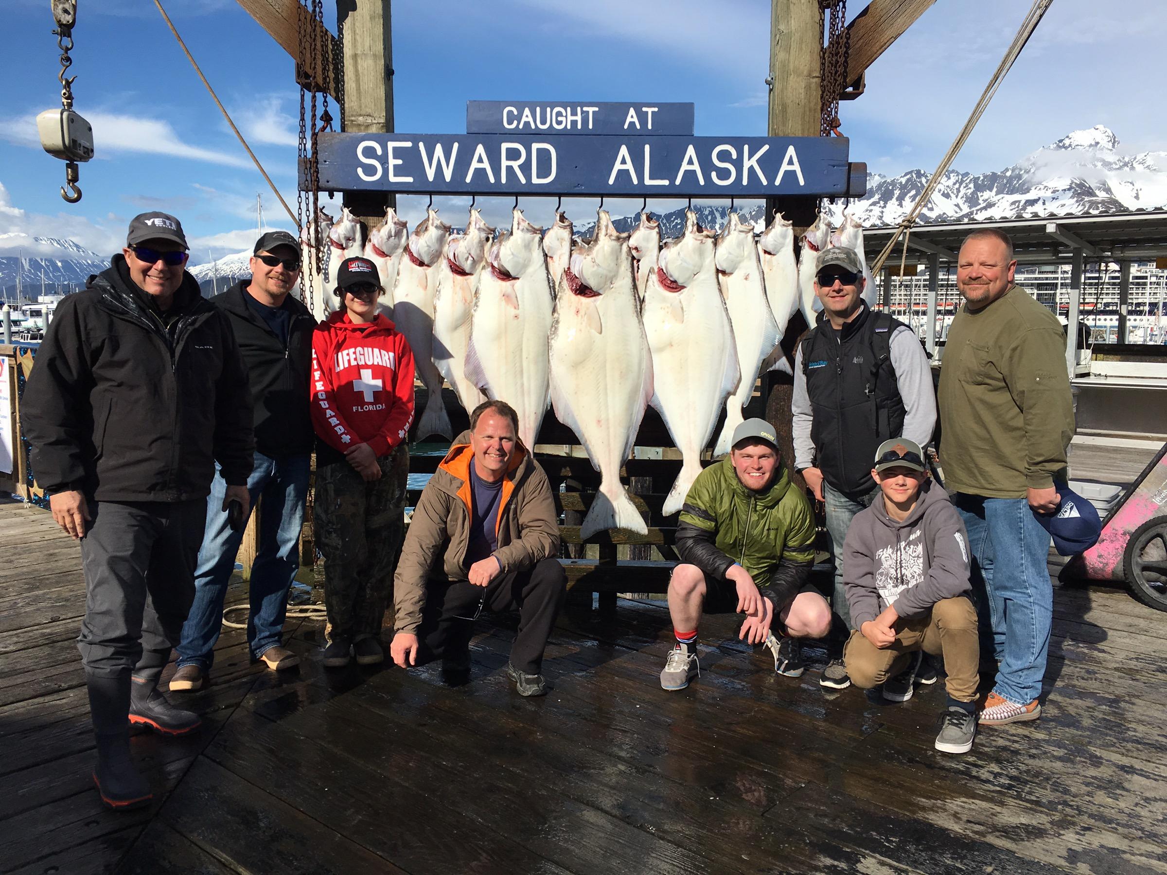 June 2 halibut fishing profish n sea for Seward halibut fishing
